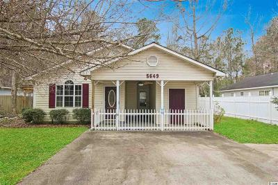 Myrtle Beach Single Family Home For Sale: 5649 Tern Hall Dr.