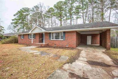 Conway SC Single Family Home For Sale: $89,900