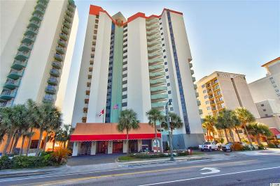 Myrtle Beach Condo/Townhouse For Sale: 2701 N Ocean Blvd. #1260