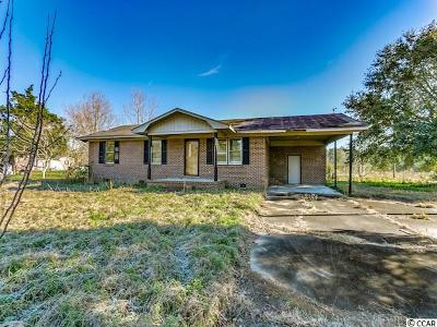 Loris Single Family Home For Sale: 220 Flag Patch Rd.
