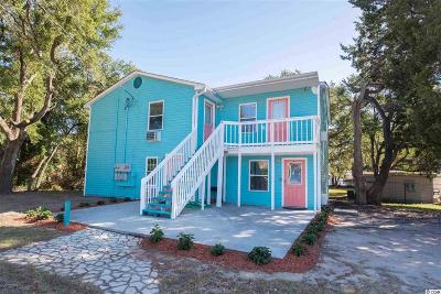 North Myrtle Beach Multi Family Home For Sale: 107 Hillside Dr. N