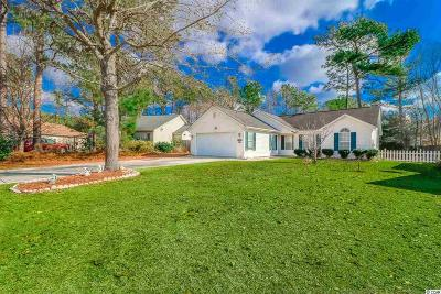 Murrells Inlet Single Family Home For Sale: 9618 Kings Grant Dr.