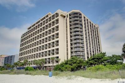 Myrtle Beach Condo/Townhouse For Sale: 7100 N Ocean Blvd. #1224