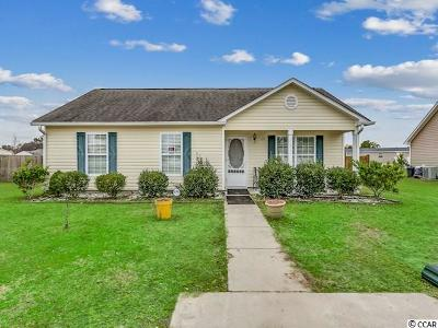 Conway SC Single Family Home For Sale: $120,000
