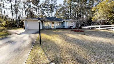 Murrells Inlet Single Family Home For Sale: 118 Colonial Circle