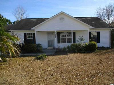 Murrells Inlet Single Family Home For Sale: 1020 Autumn Dr.