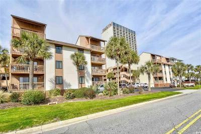 Myrtle Beach Condo/Townhouse For Sale: 5515 N Ocean Blvd. #305