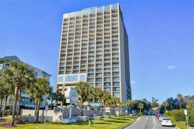 Myrtle Beach Condo/Townhouse For Sale: 5523 N Ocean Blvd. #1207
