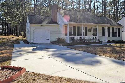 Murrells Inlet Single Family Home For Sale: 120 Woodlake Dr.