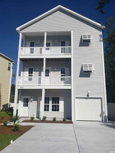 North Myrtle Beach Single Family Home For Sale: 855 9th Ave. S