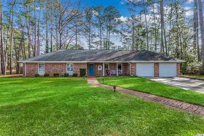 Pawleys Island Single Family Home For Sale: 17 Bay Tree Pl.