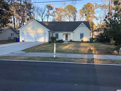 Surfside Beach Single Family Home For Sale: 616 16th Ave. N
