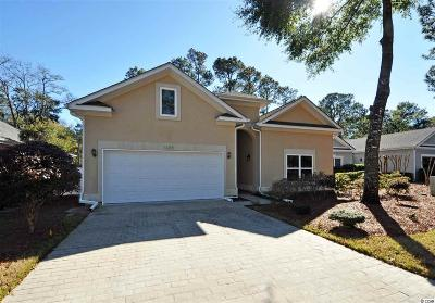 North Myrtle Beach Single Family Home Active Under Contract: 1205 Trisail Ln