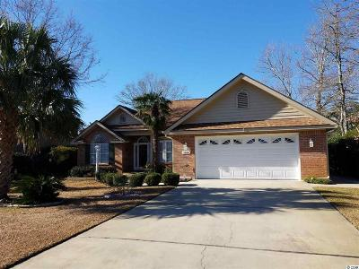 North Myrtle Beach Single Family Home Active-Pending Sale - Cash Ter: 1466 Fox Hollow Way