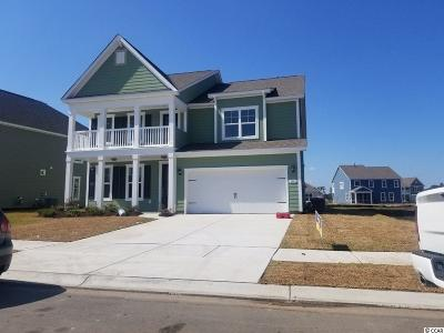 Myrtle Beach Single Family Home Active Under Contract: Tbd Stellar Loop