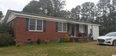 Loris Single Family Home For Sale: 2084 S Green Sea Rd.