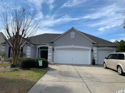 North Myrtle Beach Single Family Home Active-Pend. Cntgt. On Financi: 2707 Marsh Glen Dr.