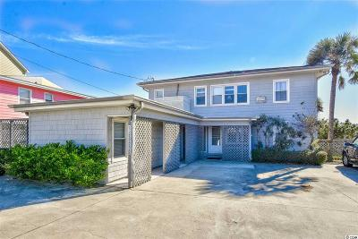 North Myrtle Beach Single Family Home For Sale: 5100 Ocean Blvd. N