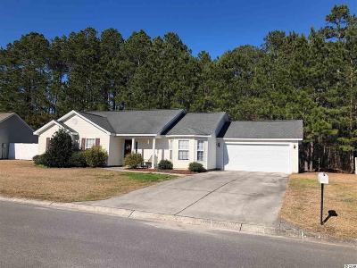 Murrells Inlet Single Family Home For Sale: 1218 Jumper Trail Circle