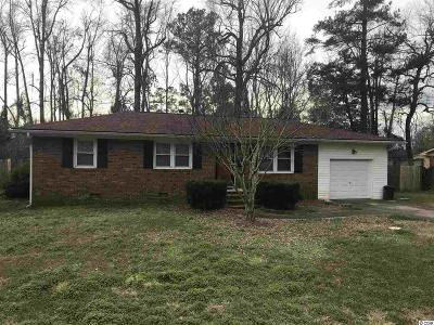 Loris Single Family Home Active-Pend. Cntgt. On Financi: 4810 Forest Dr.