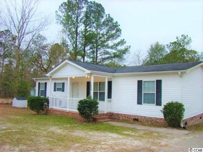 Aynor SC Single Family Home For Sale: $169,000