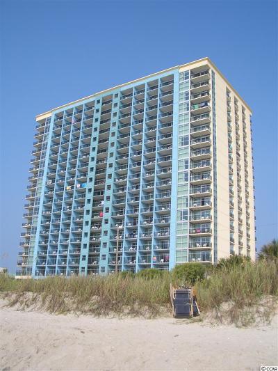 Myrtle Beach Condo/Townhouse For Sale: 504 N Ocean Blvd. #1109