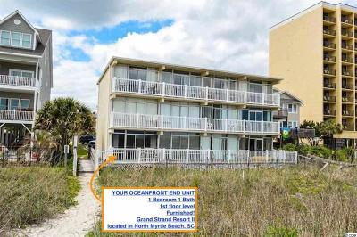 North Myrtle Beach Condo/Townhouse For Sale: 1607 S Ocean Blvd. #13