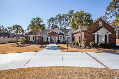 Myrtle Beach Single Family Home For Sale: 9700 Twin Lake Dr.
