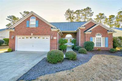 Murrells Inlet Single Family Home For Sale: 6474 Somersby Dr.