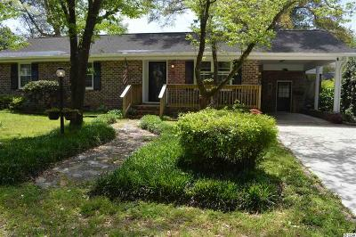Murrells Inlet Single Family Home For Sale: 323 Pine St. S