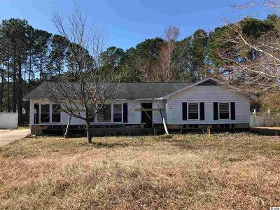 Myrtle Beach SC Single Family Home Active-Pending Sale - Cash Ter: $45,000