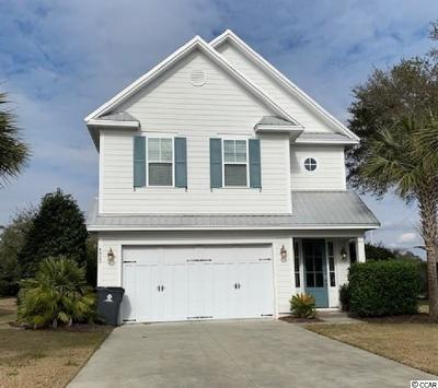 North Myrtle Beach Single Family Home Active Under Contract: 4820 Cantor Ct.