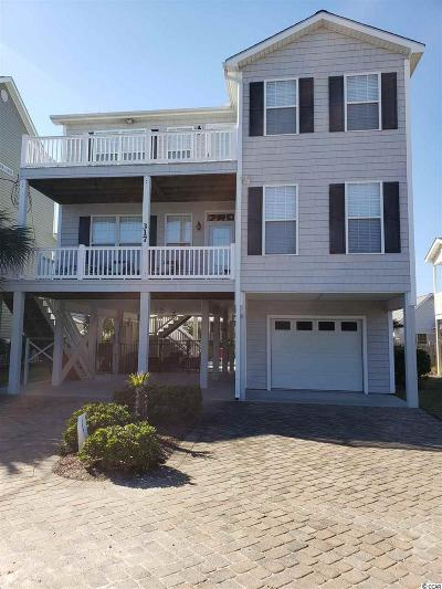 North Myrtle Beach Single Family Home Active Under Contract: 317 26th Ave N