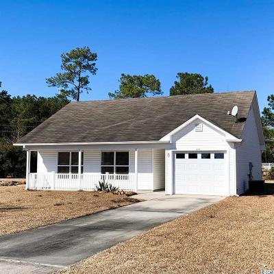 Little River Single Family Home Active Under Contract: 456 Cordgrass Dr.