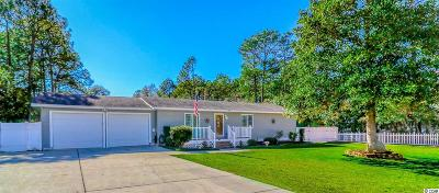 Surfside Beach Single Family Home Active Under Contract: 1849 Volunteer Dr.