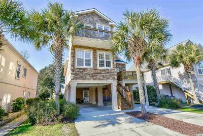 North Myrtle Beach Single Family Home Active-Pending Sale - Cash Ter: 609 5th Ave. S