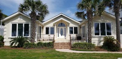 Georgetown County, Horry County Single Family Home For Sale: 5721 N Ocean Blvd.