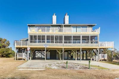 Holden Beach Single Family Home For Sale: 1260 W Ocean Blvd.