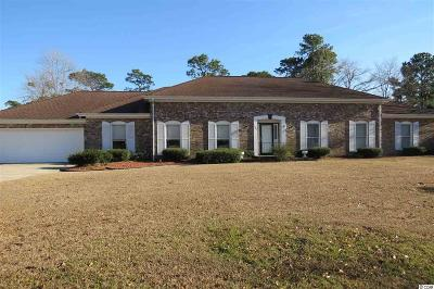 Surfside Beach Single Family Home For Sale: 1581 Baytree Ln.