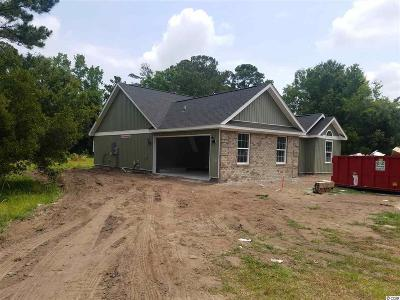 Murrells Inlet Single Family Home For Sale: Tbd McDowell Shortcut Rd.