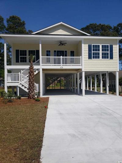 North Myrtle Beach Single Family Home For Sale: 608 23rd Ave. S