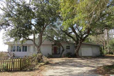 Pawleys Island Single Family Home For Sale: 1 Bumpy Ct.