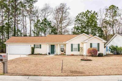 Myrtle Beach Single Family Home For Sale: 1132 Jumper Trail Circle