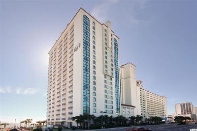 Myrtle Beach Condo/Townhouse For Sale: 3000 N Ocean Blvd. #509