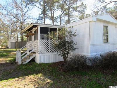 Myrtle Beach SC Single Family Home For Sale: $29,900