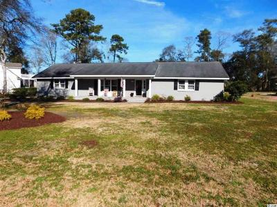 North Myrtle Beach Single Family Home Active-Pending Sale - Cash Ter: 1504 Magnolia Dr.