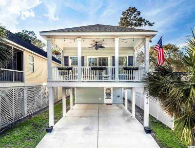 Surfside Beach Single Family Home For Sale: 1014 B S Poplar Dr.