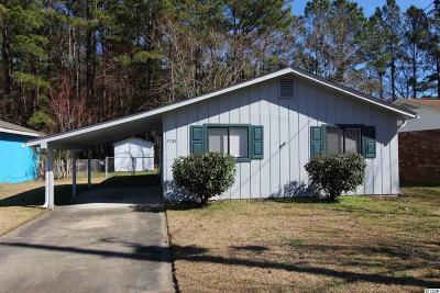 Myrtle Beach Single Family Home For Sale: 5730 Dogwood Circle