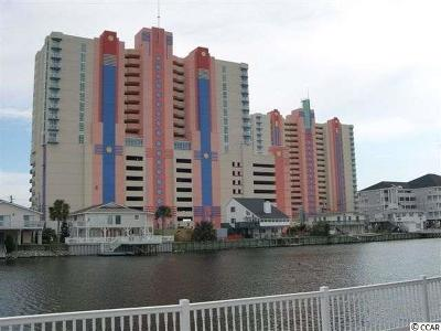 Myrtle Beach Condo/Townhouse For Sale: 3500 N Ocean Blvd. #610