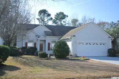 Murrells Inlet Single Family Home For Sale: 1674 Sedgefield Dr.